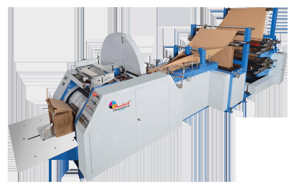 Paper Bag Making Machine - Sahil Graphics